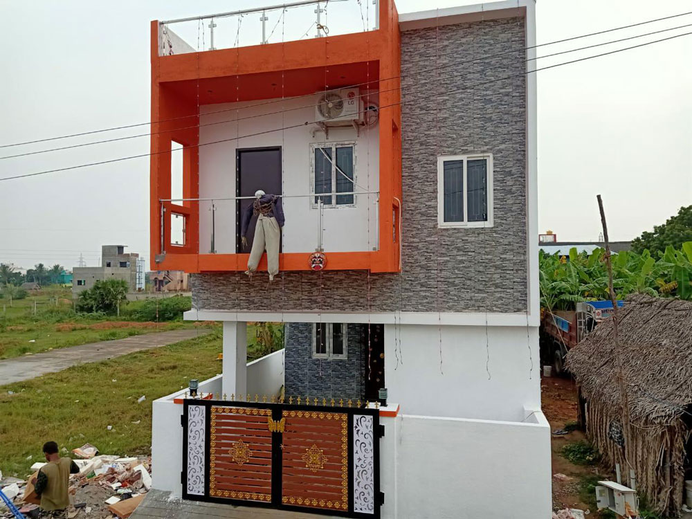 Duplex-house-elevation-design-india