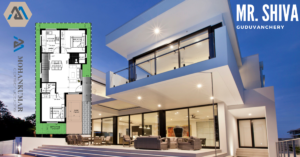 1250 sft house plan