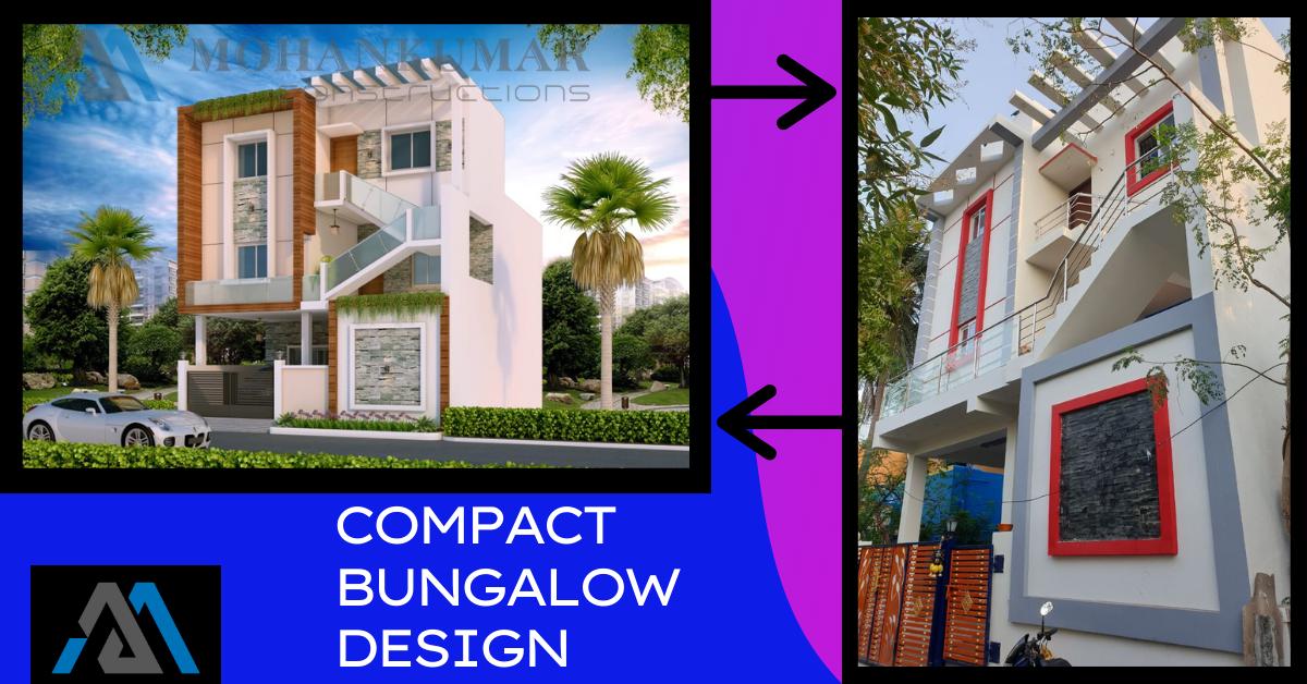 Compact bungalow design