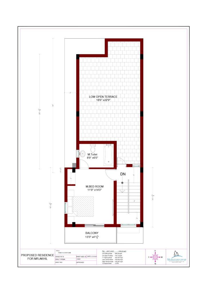 duple house floor plan