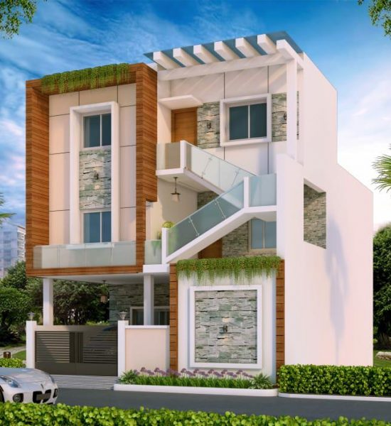 Elevation design - duplex